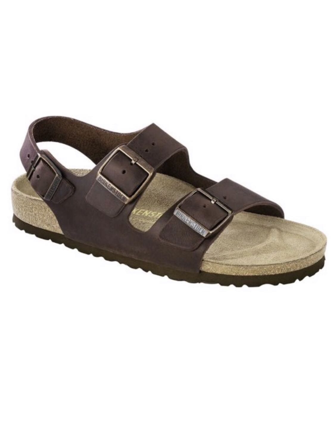 269a7d44e2c3 Birkenstock Milano Oiled Leather Habana 034871