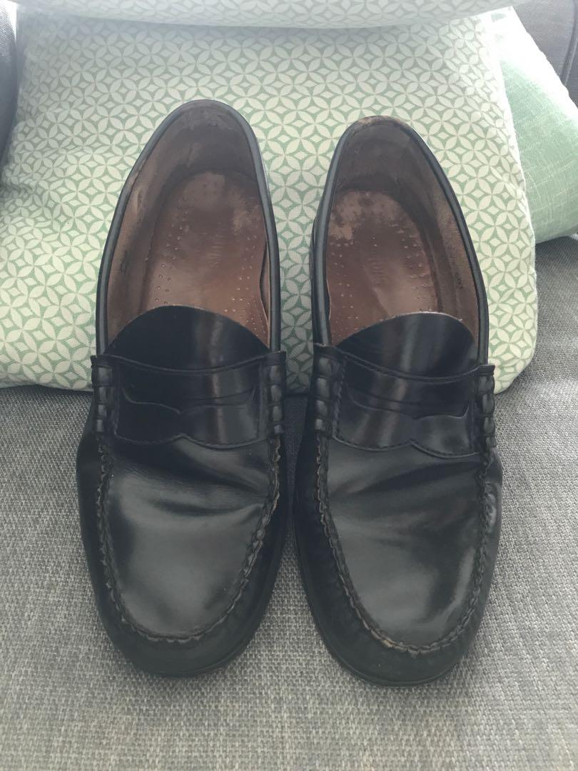 96d4d8c35287 Black leather designer shoes
