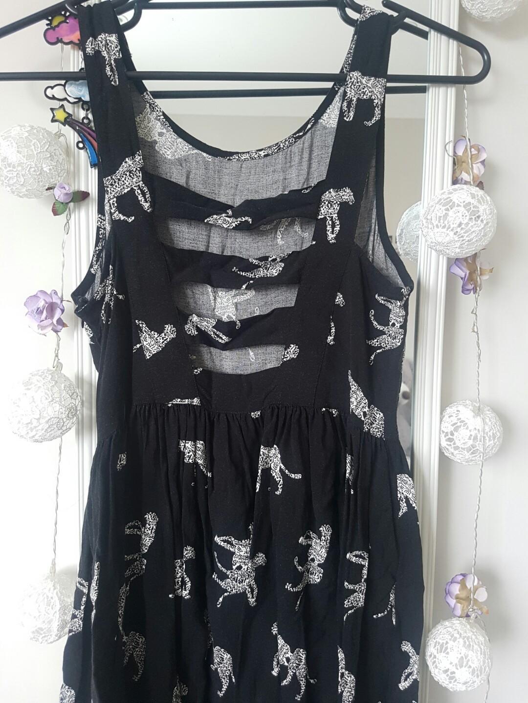 Black Skater Dress ☆