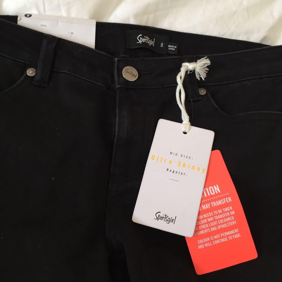 black ultra skinny regular jeans 🖤 bnwt