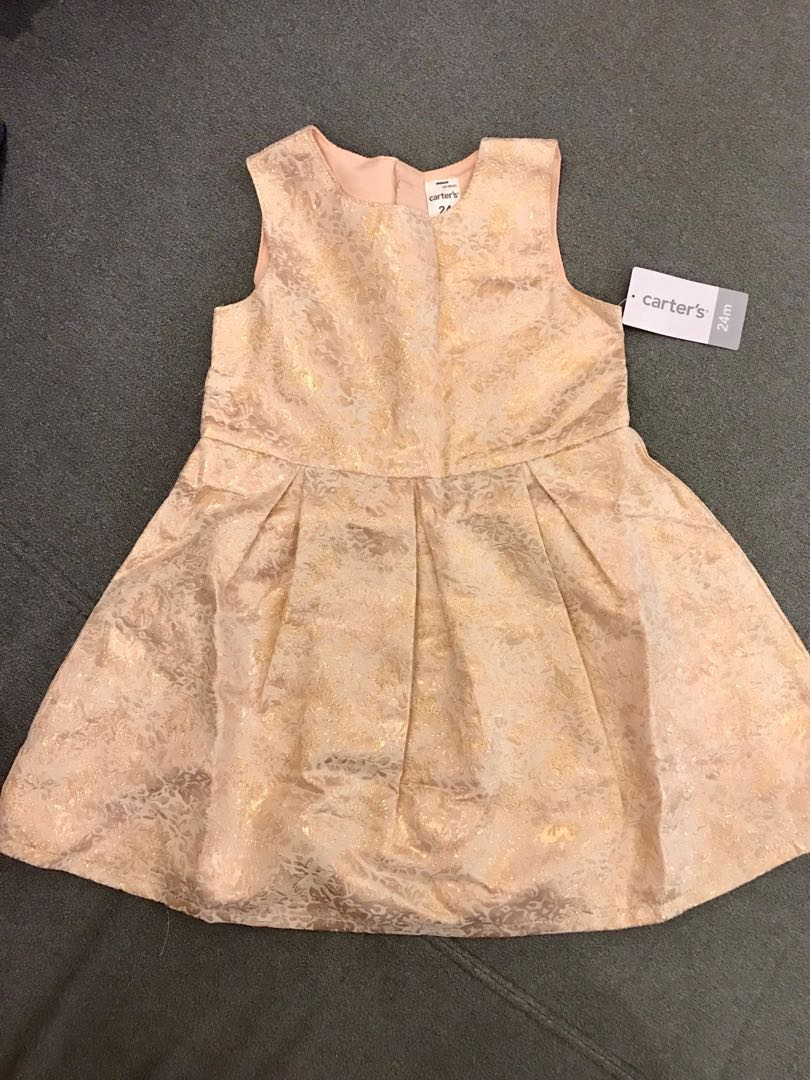 9a7483a56 BNWT Carters Toddler Girl 2-Piece Dress