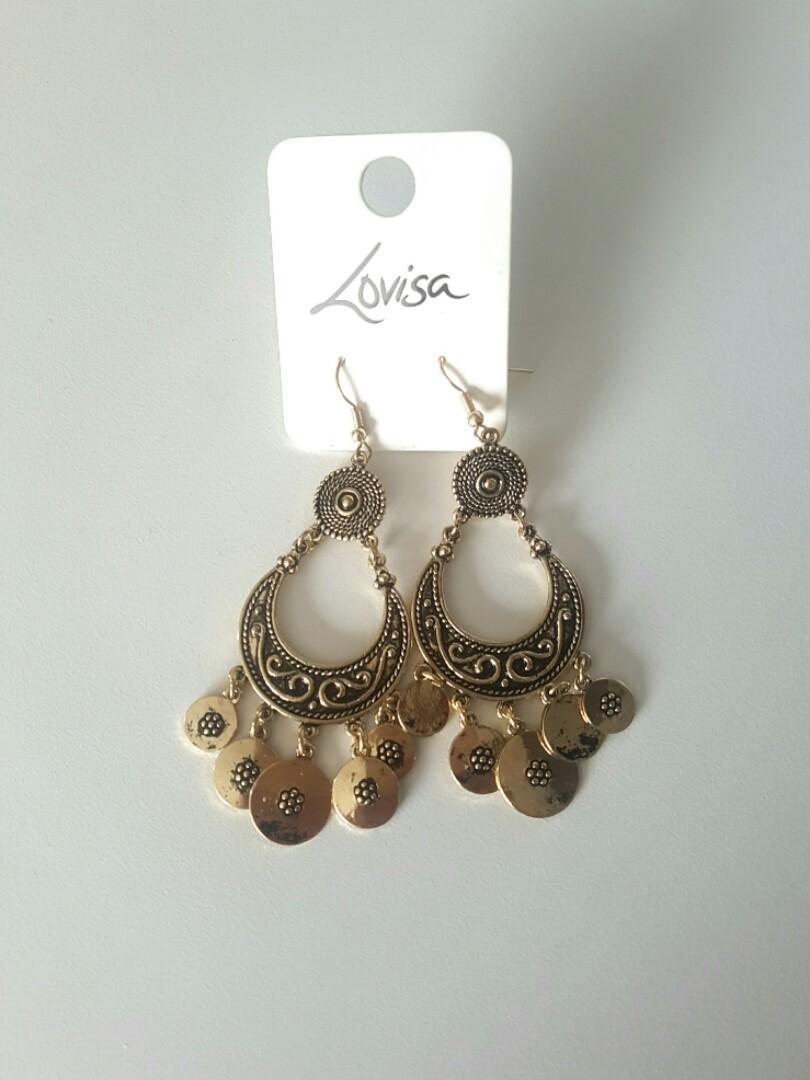 Boho Teardrop Earrings ☆