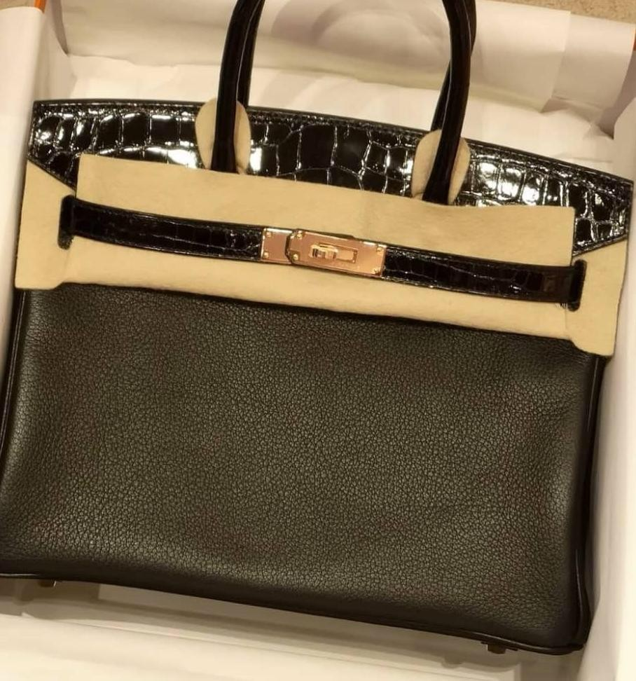 fea50f37fc CHEAPEST EVER NEW HERMES BIRKIN 30 BLACK TOUCH RGHW