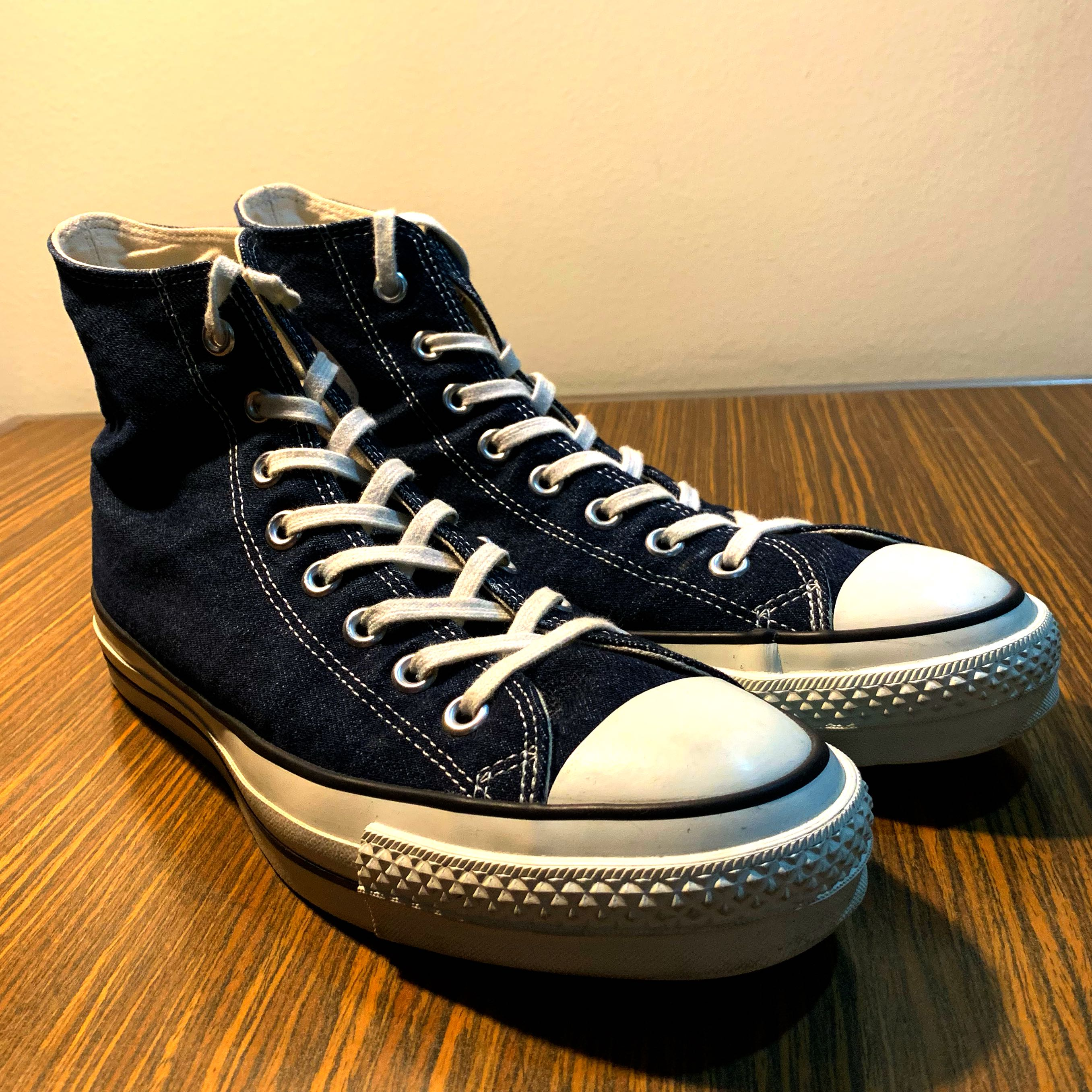 e71ff853d1df Converse Chuck Taylor All Star J Hi Okayama Denim 27cm Made in Japan ...