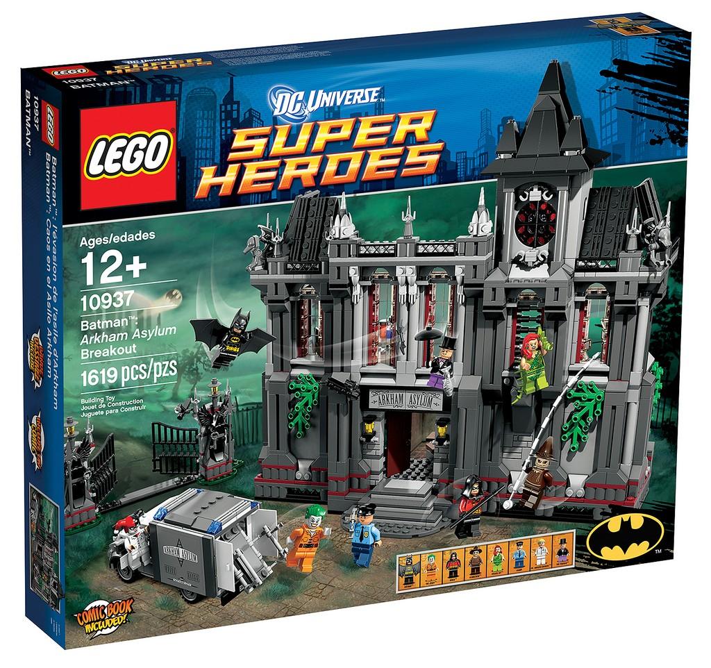 DISPLAY SET (discontinued set) LEGO 10937 Arkham Asylum