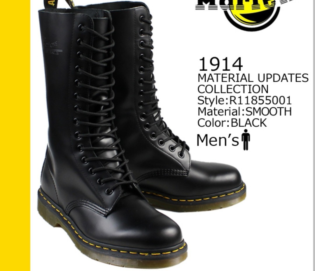 newest 120bc d3a38 Dr Martens Boots 1914, Men's Fashion, Footwear, Boots on ...