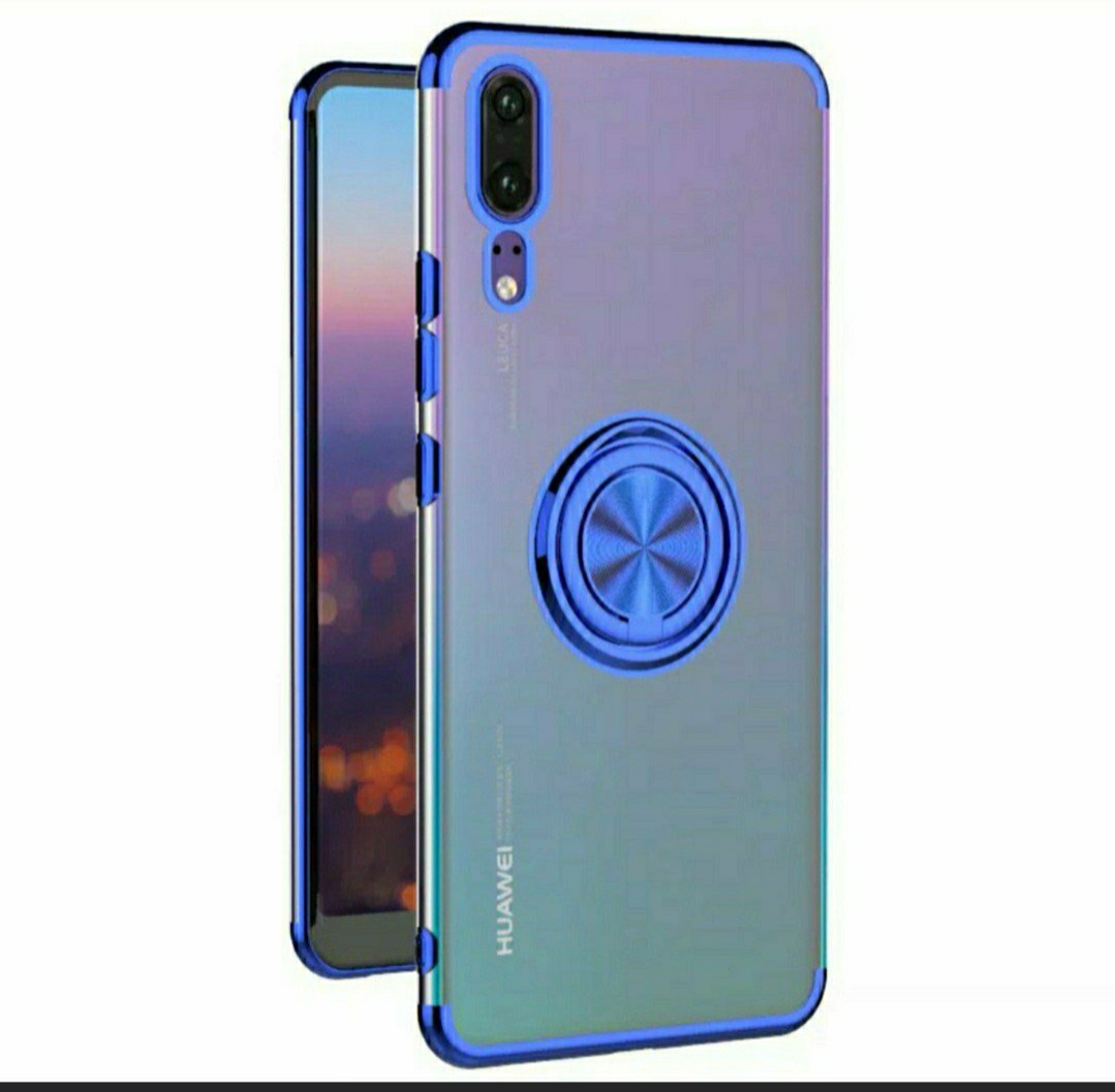 Brand New Huawei P20 Pro Handphone Case With Ring Mobile Phones