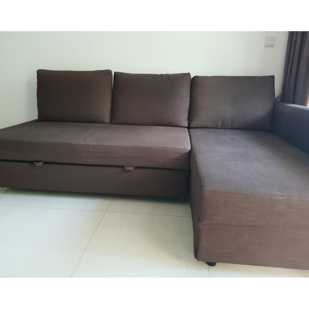 Ikea Friheten Sofa Bed With Storage Furniture Sofas On Carousell
