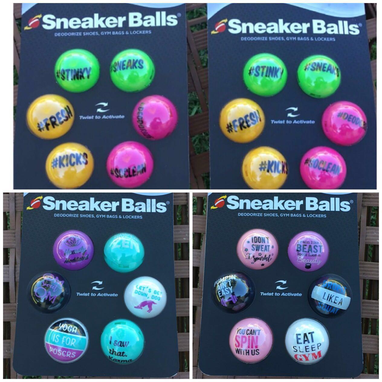 3e3f65825793 IN STOCK Sof Sole Sneaker Balls Shoe Gym Bag and Locker deodorizer ...
