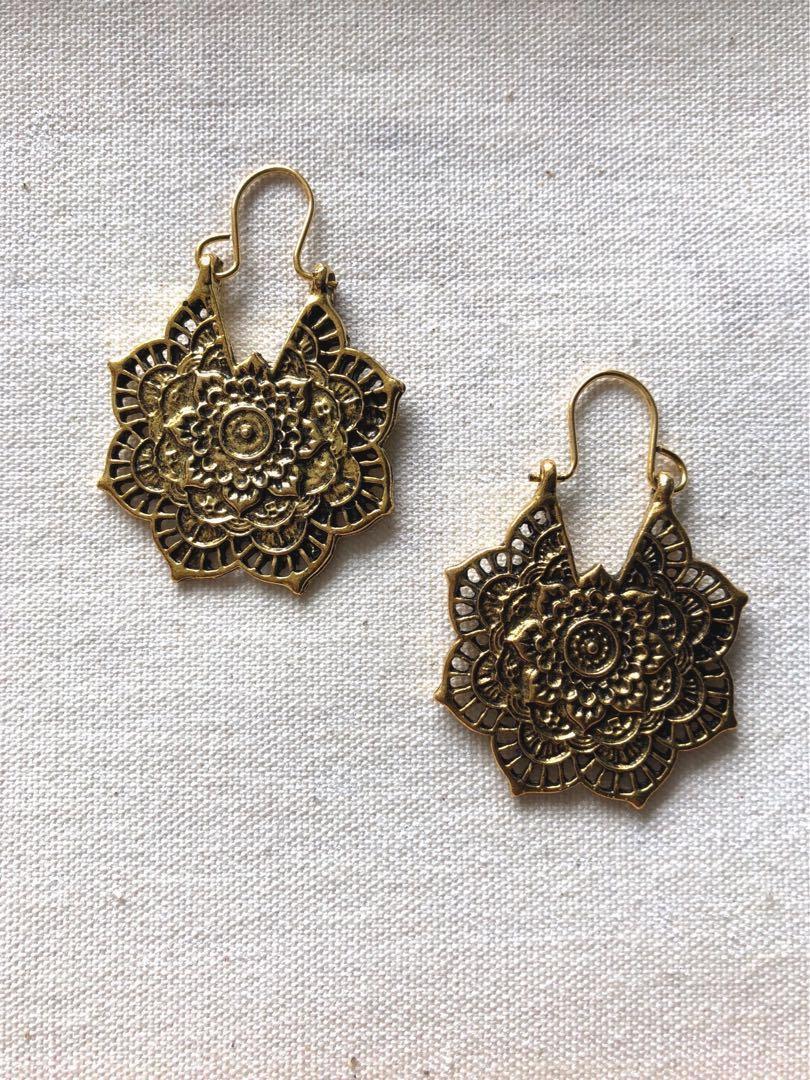 Indian Bohemian Boho Festive Party Occasion Oxidised Gold