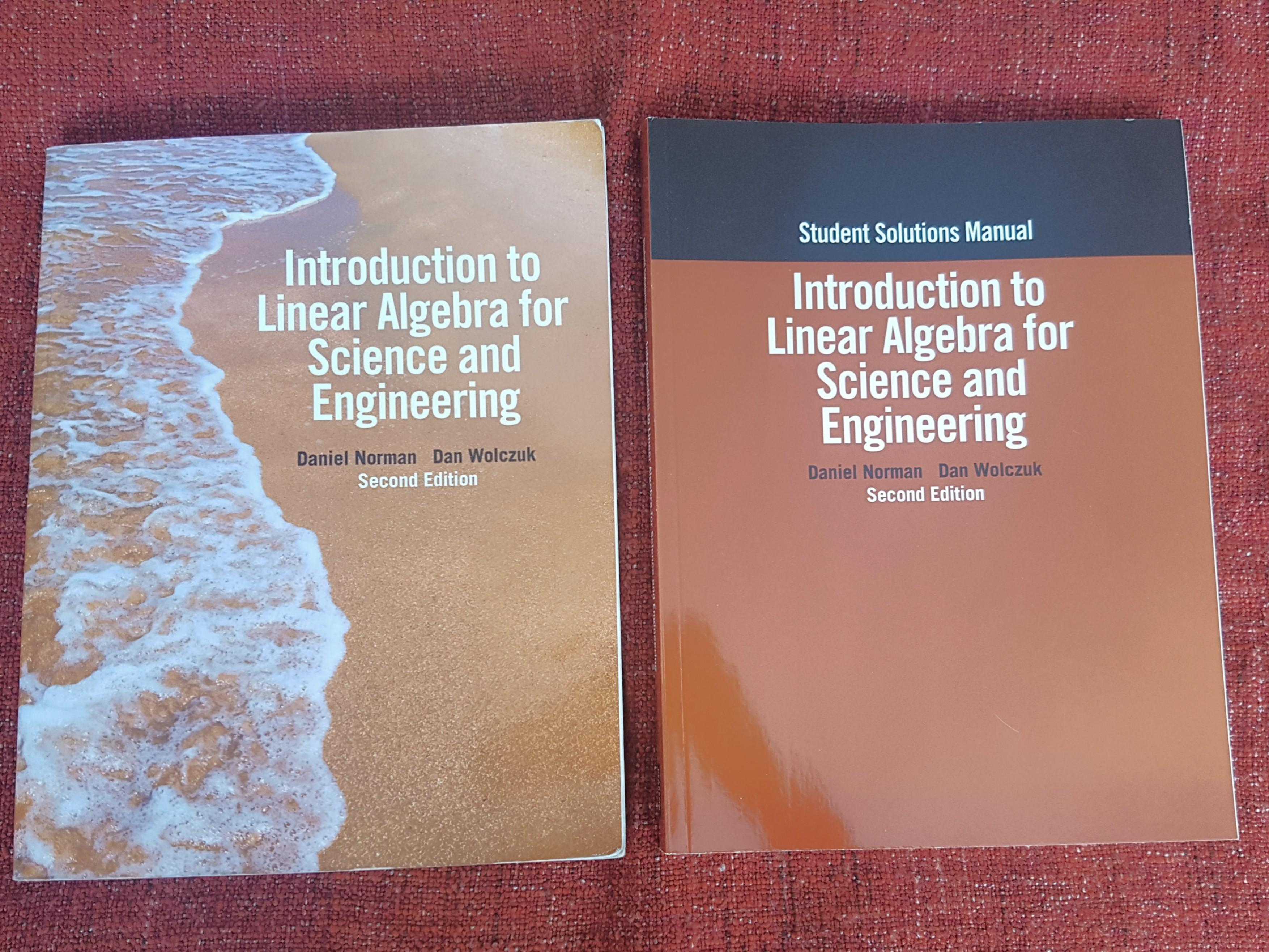 Introduction to Linear Algebra for science and engineering - MAT188
