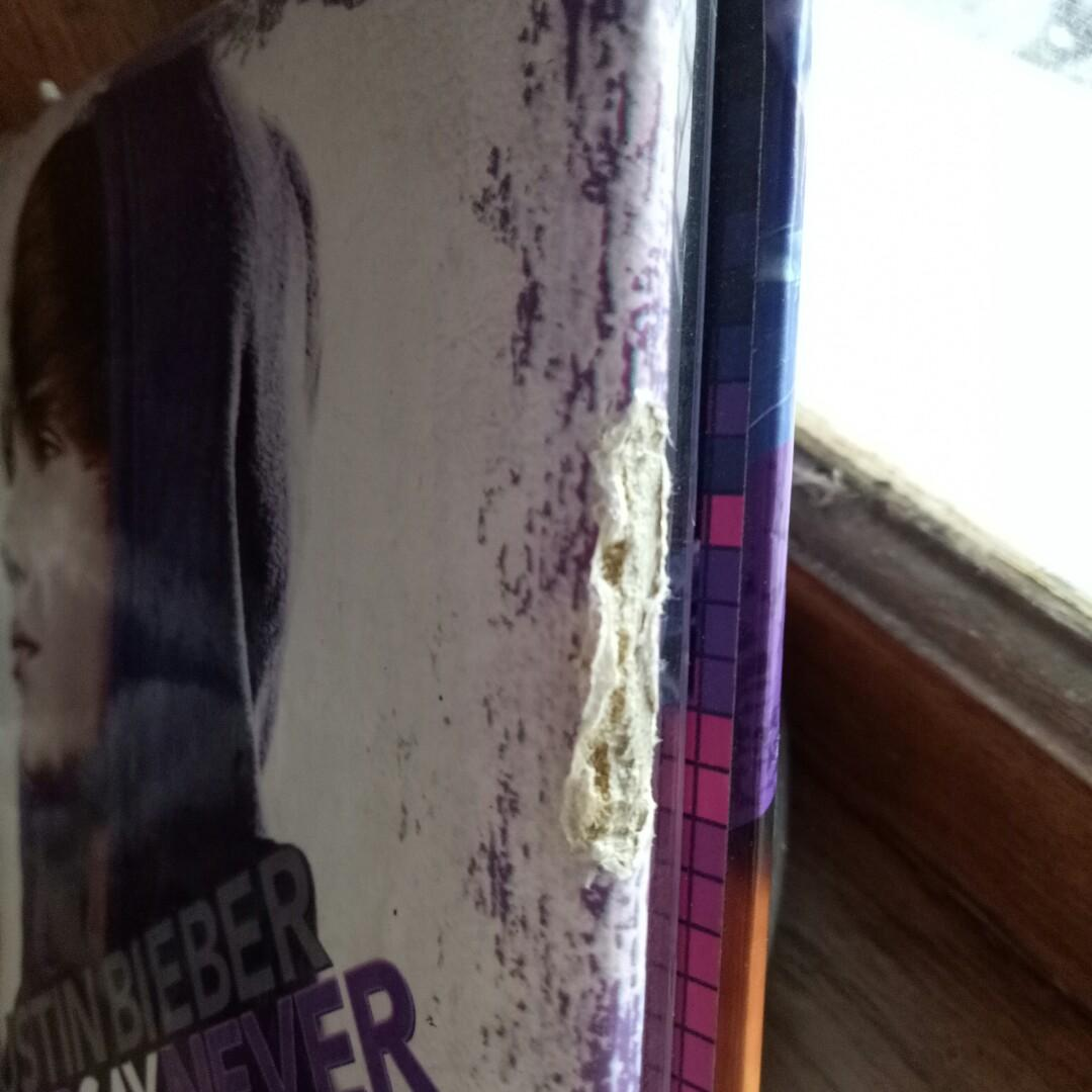 Justin bieber - dvd Never say Never