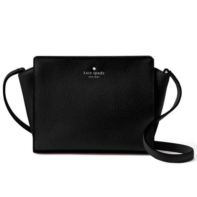 661b033fd Kate Spade Grand Street Hayden Crossbody Bag Black, Women's Fashion ...