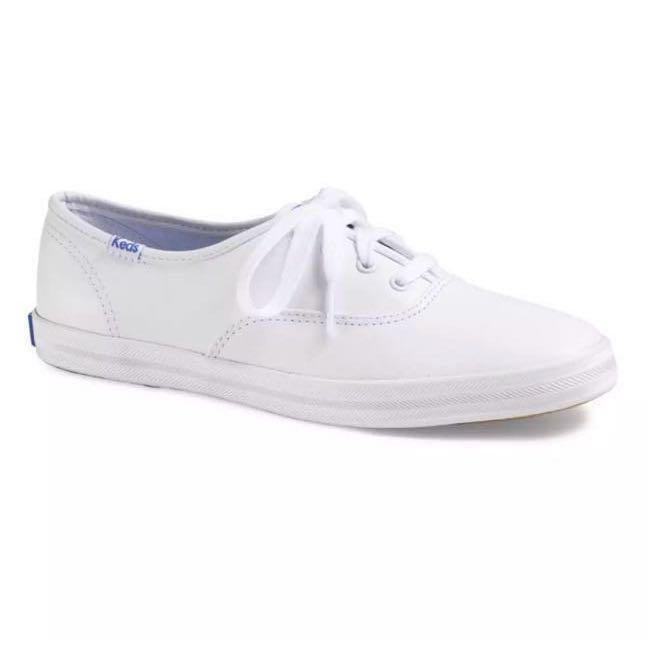 1eb6f02b5fa Keds Champion Core White Leather Shoes for Ladies