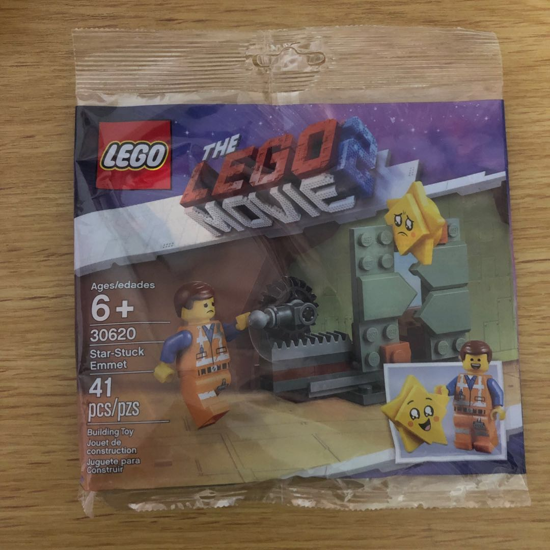 Stuck 30620 Emmet Polybag Movie 2 Lego Star m8nwv0NO