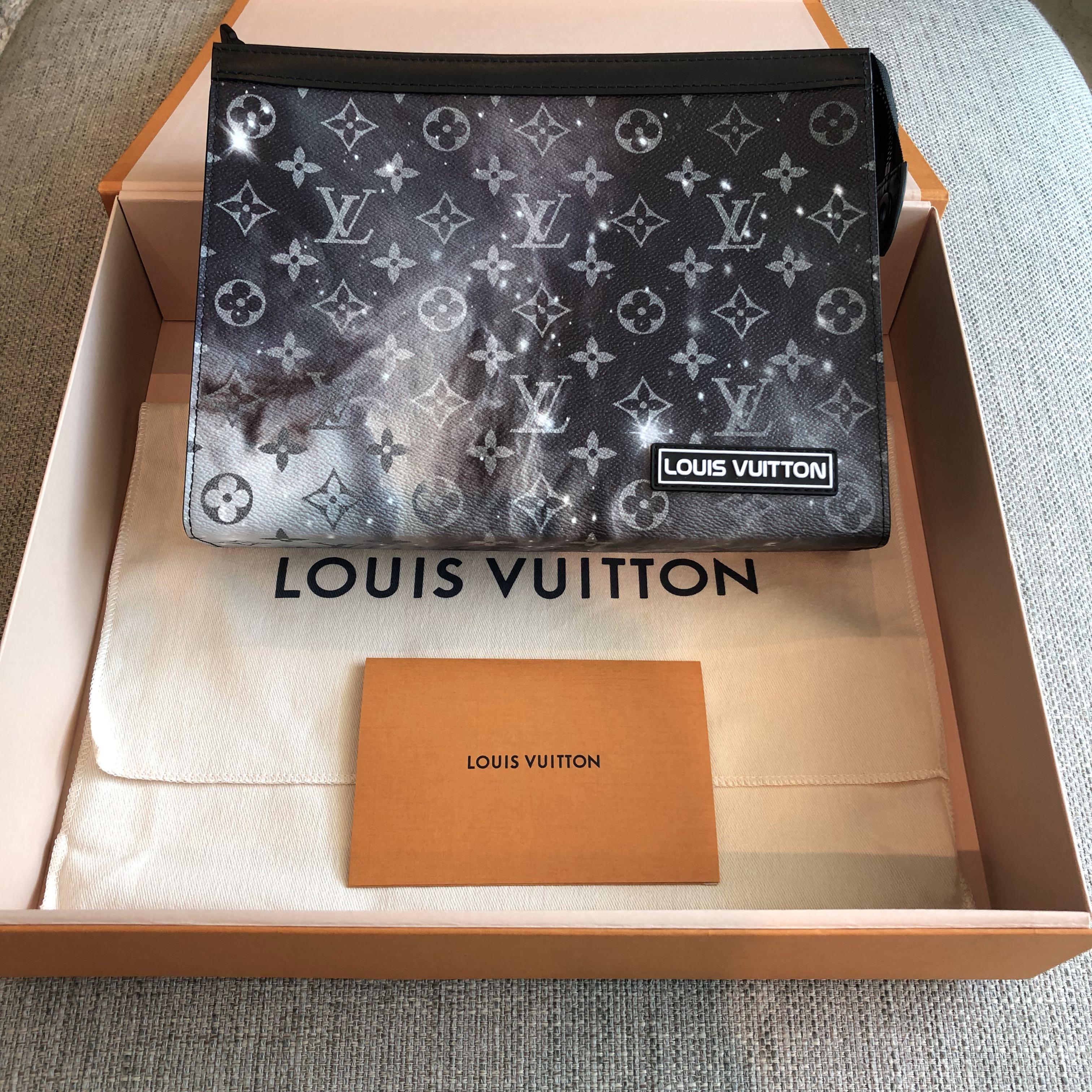 57655bcee Louis Vuitton Pochette Voyage MM Monogram Galaxy, Luxury, Bags ...