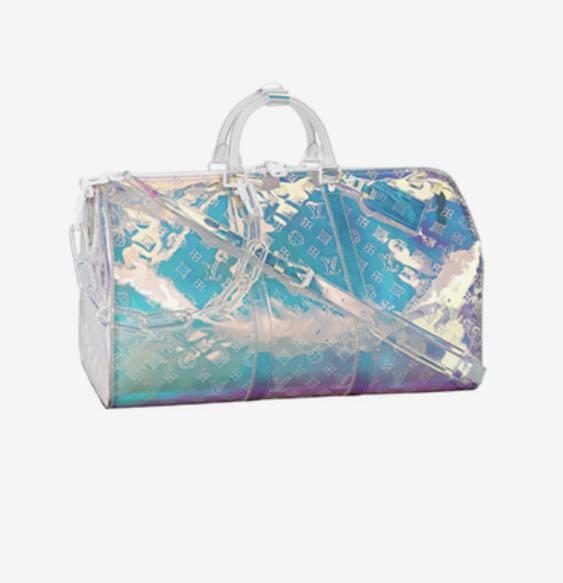 7e74cb588248 Louis Vuitton Virgil Abloh Prism Keepall 50B