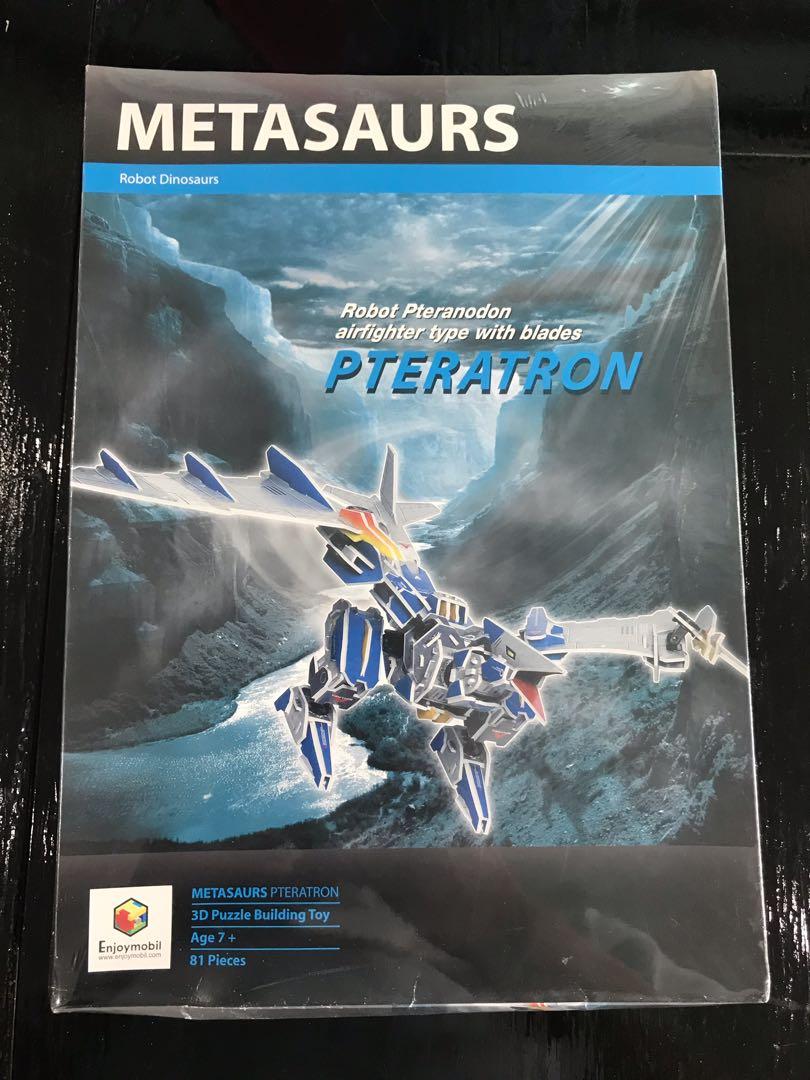 METASAURS Robot Pteranodon 3D Puzzle Building Toy