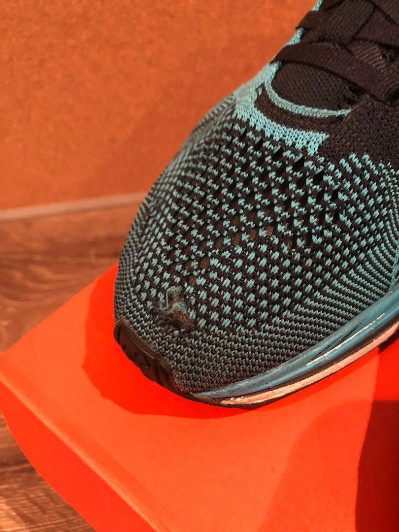 Nike Flyknit Racer Chlorine Blue
