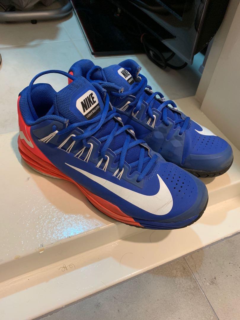 Nike Lunar Balistec - BLUE Tennis Shoes