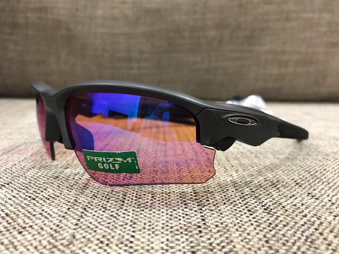 930cdb6d564 Oakley™ FLAK DRAFT Asian Fit (Steel Prizm Golf)