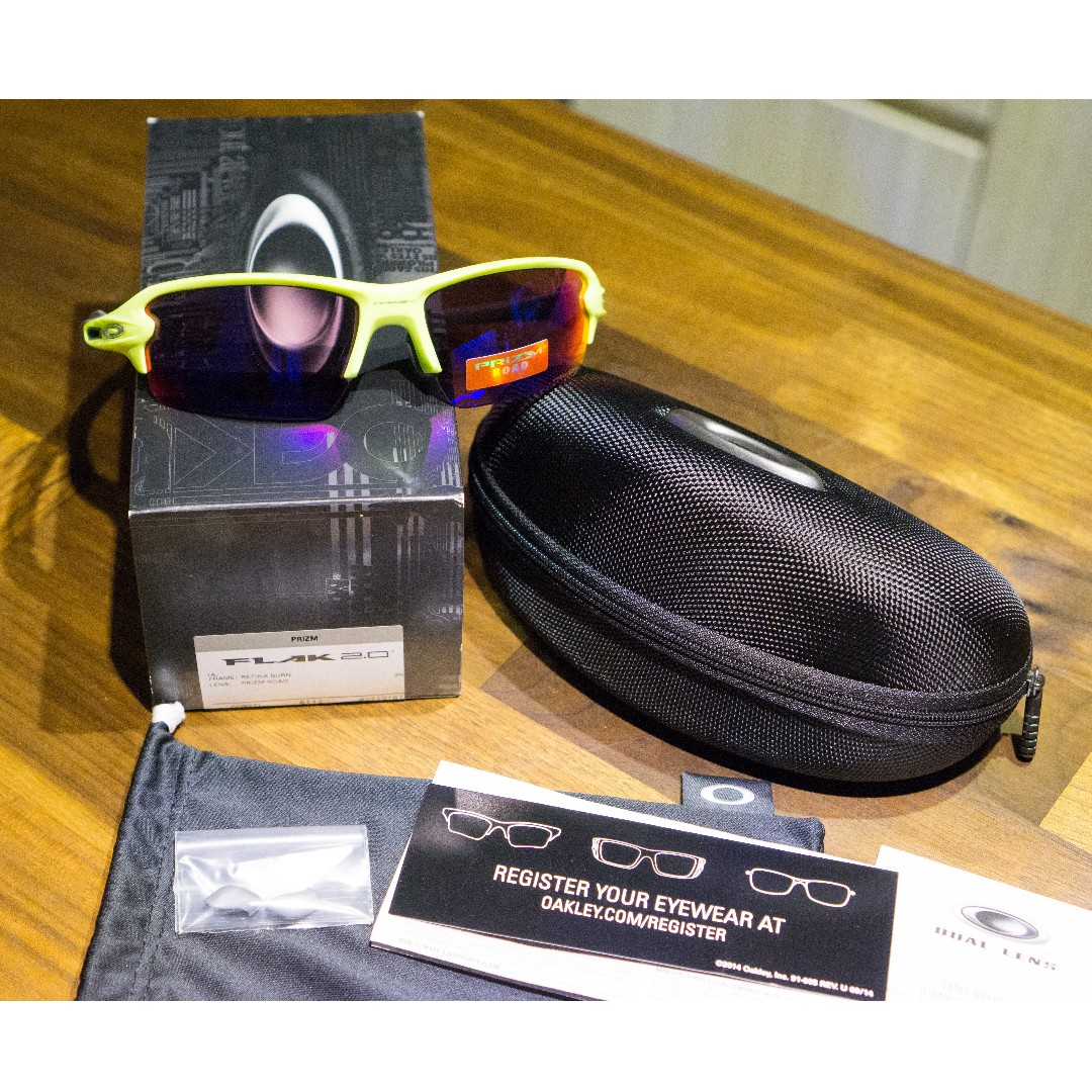 18ab5fdcf2a1b Oakley Flak Jacket 2.0 (Asia Fit) Sunglasses • PRIZM Road Lenses ...