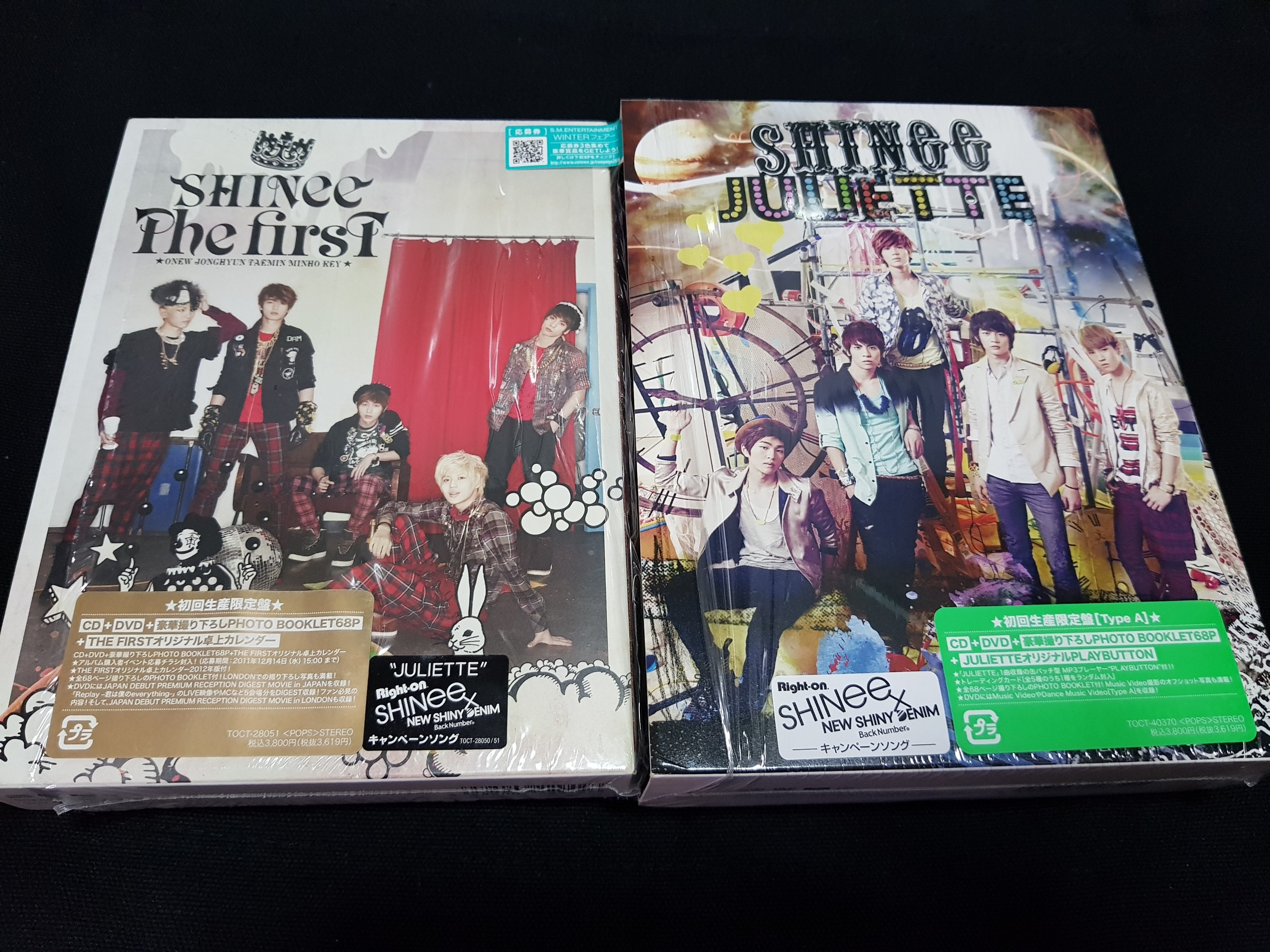 [OFFICIAL] SHINee Japanese Album & Single with DVD