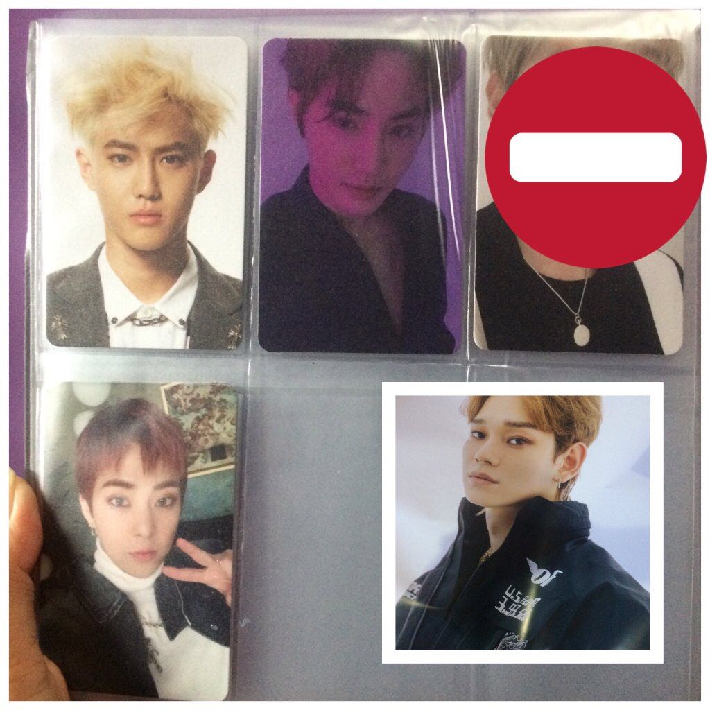Photocard & poster EXO
