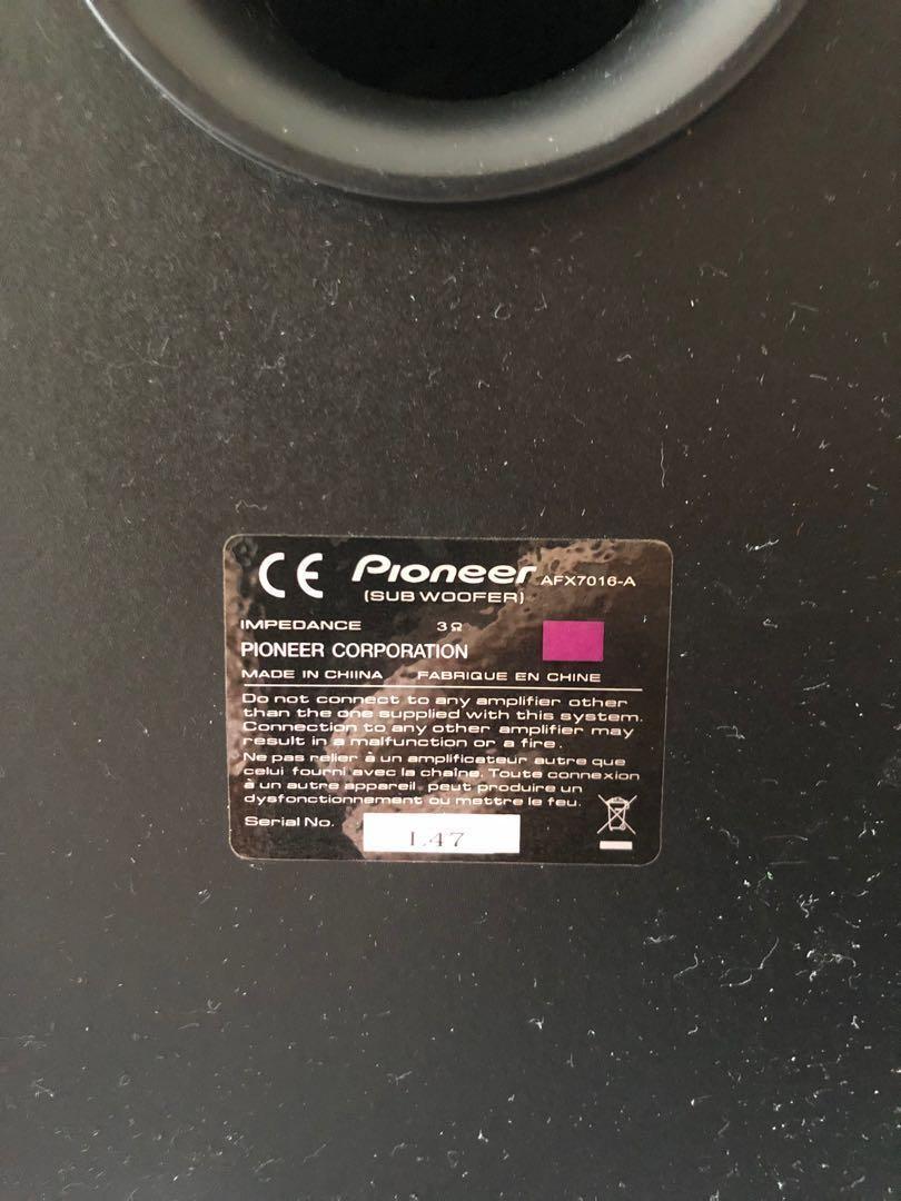 Pioneer 5 1 Channel Speaker #pioneer onkyo denon sonos sony