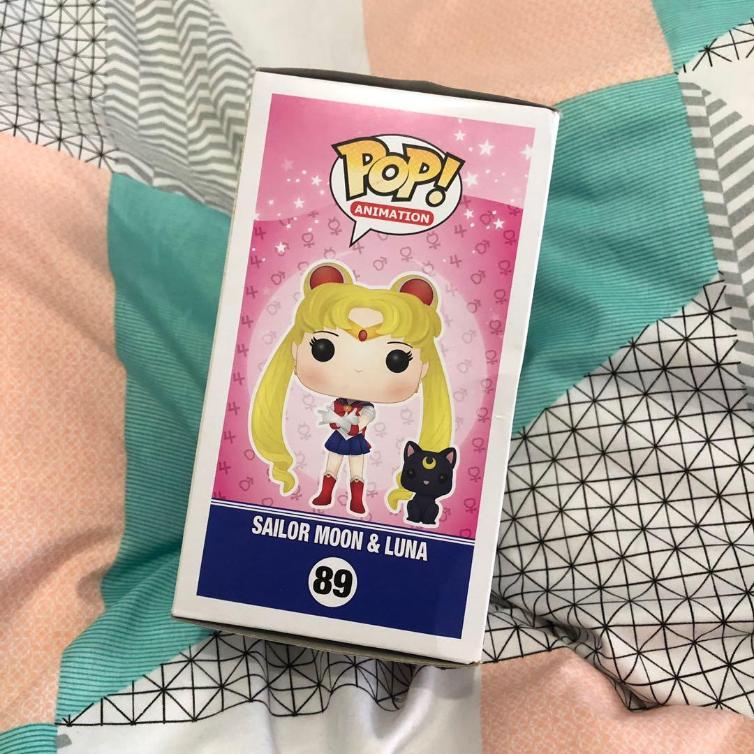 Sailor Moon & Luna Pop! Vinyl