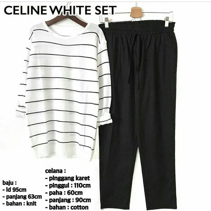 SET CELINE WHITE