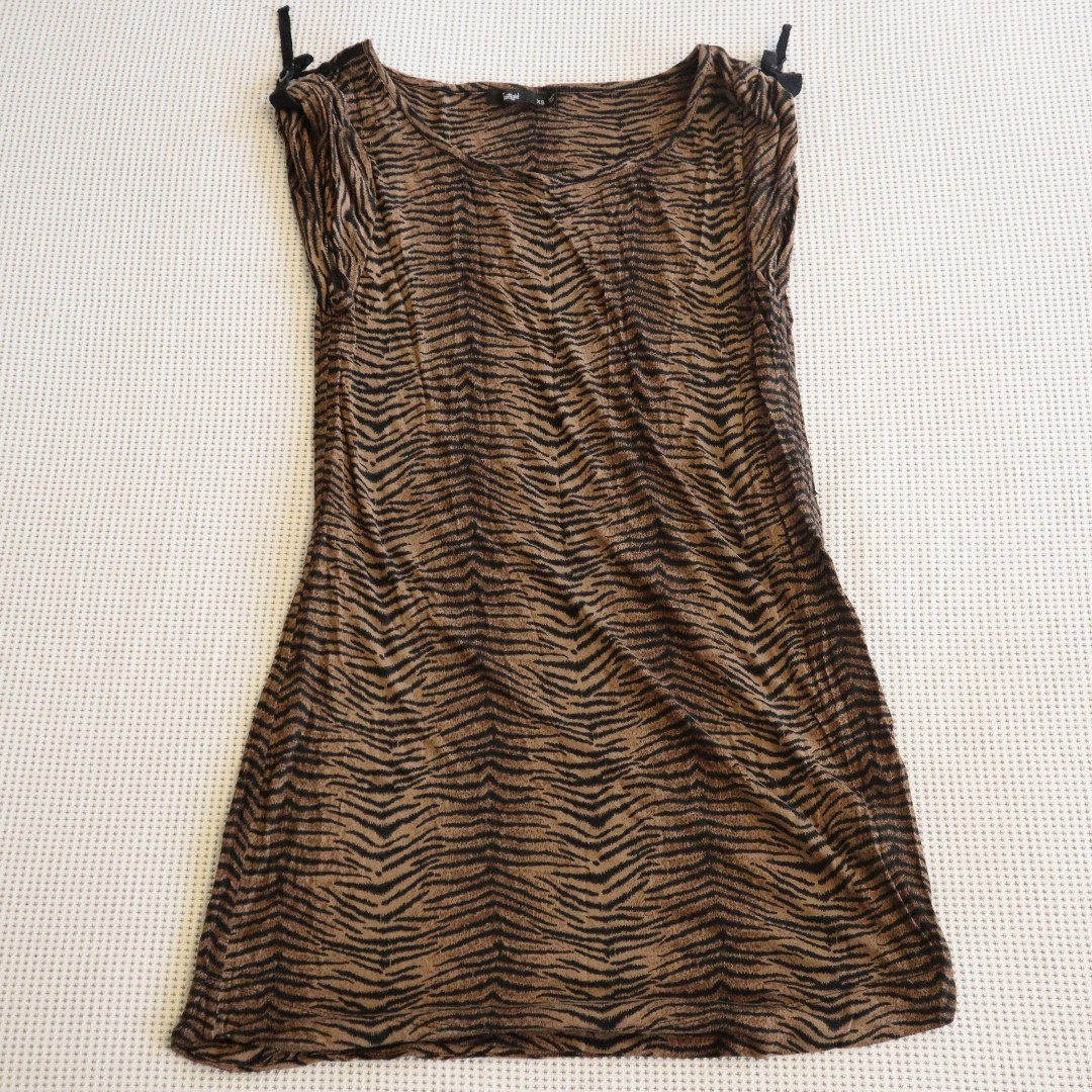9b96fbe1e41 SPORTSGIRL TIGER PRINT DRESS