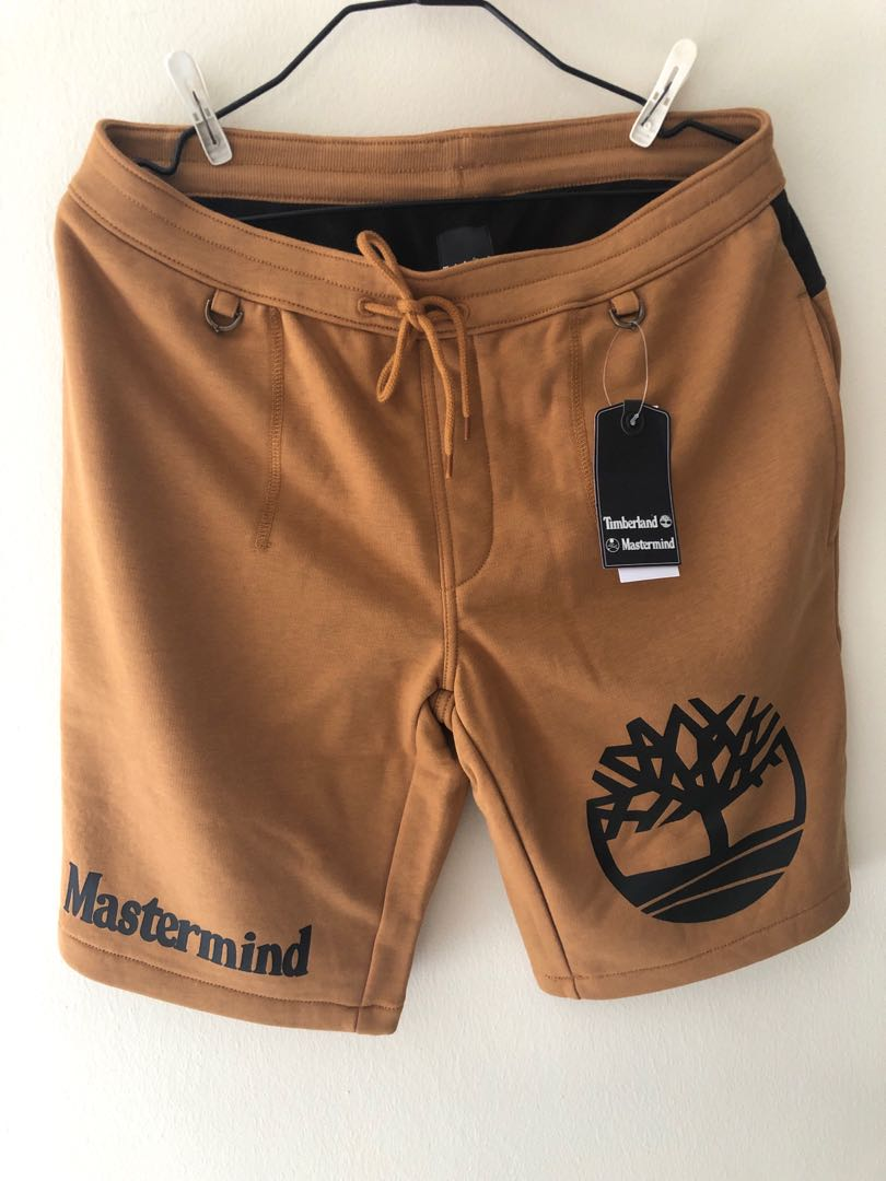 451beca679 Timberland x Mastermind Wheat Shorts, Men's Fashion, Clothes ...
