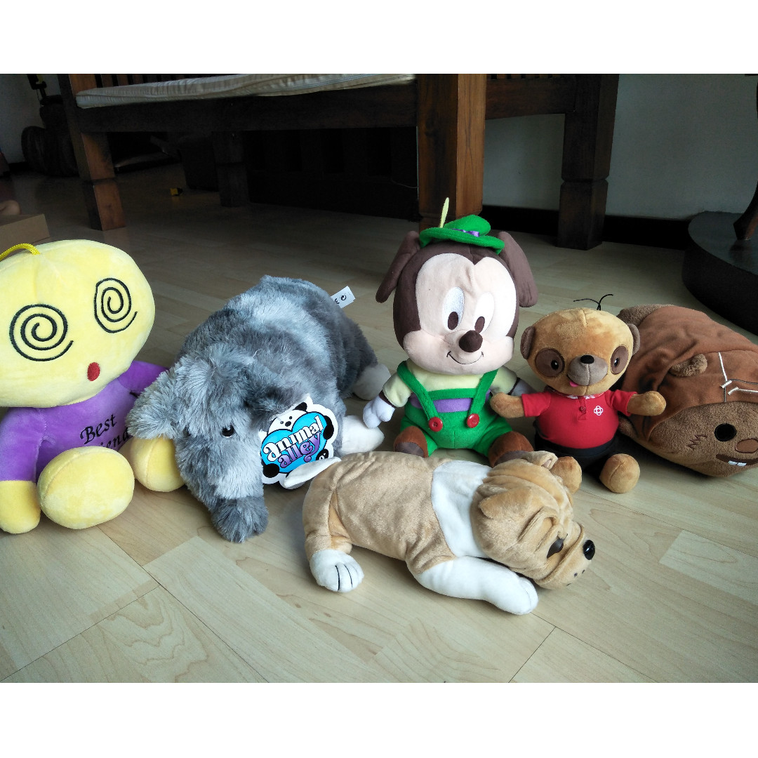 102810f6696 Various soft toys - Brand New