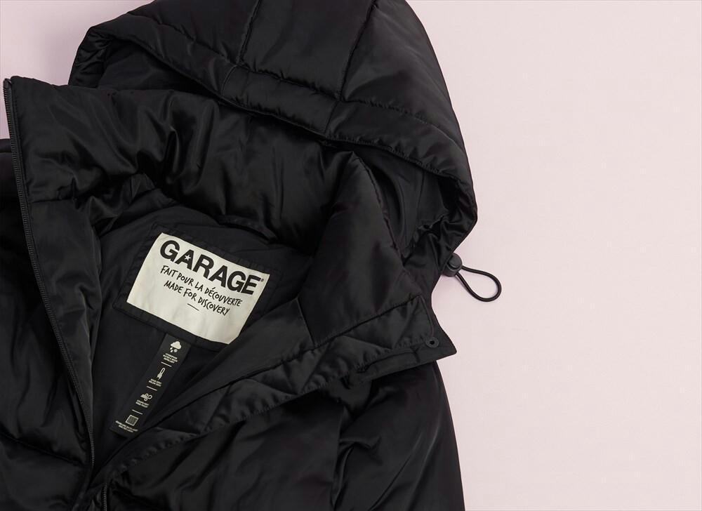 Warmest puffer jacket in black (xs) from garage