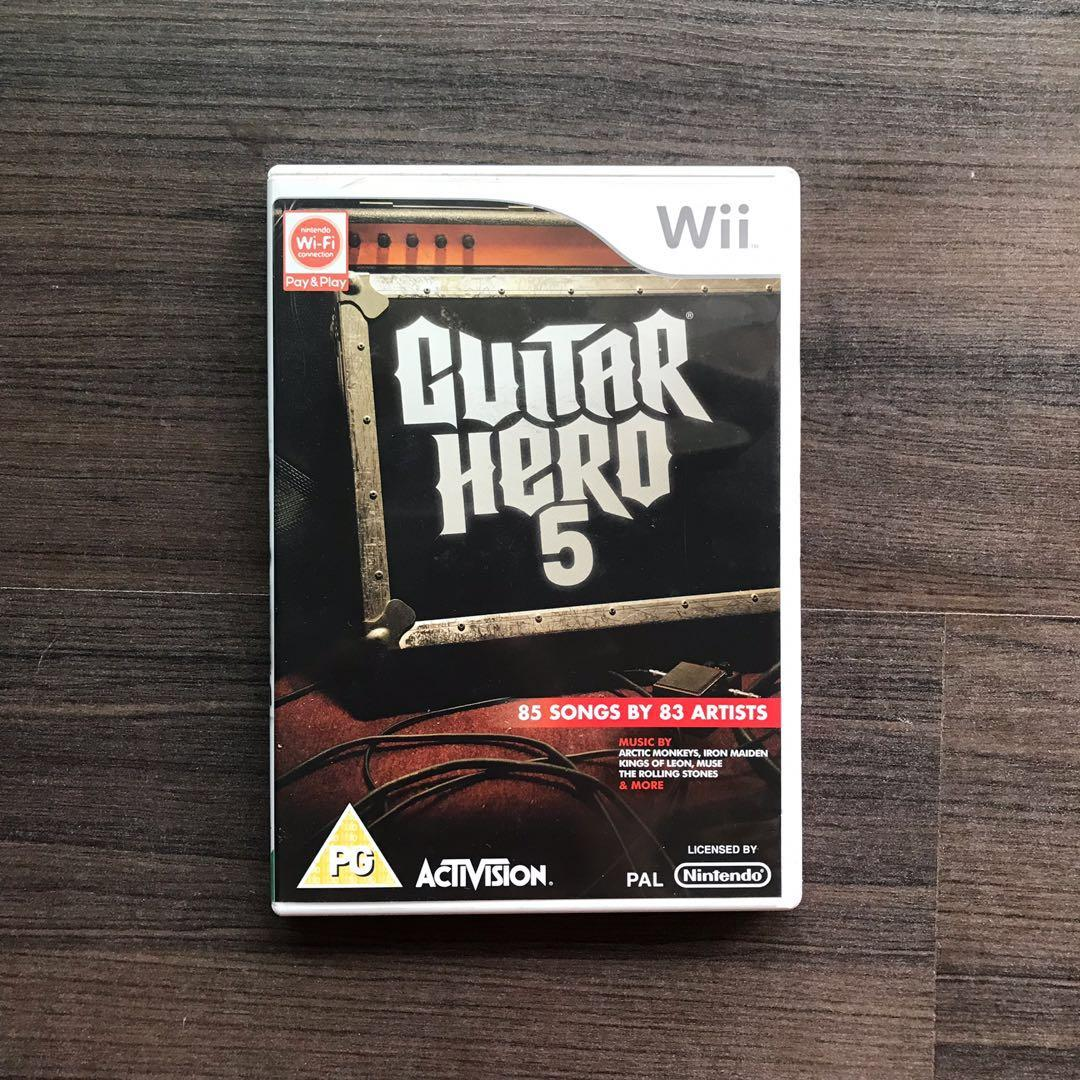 WII | Guitar Hero 5, Toys & Games, Video Gaming, Video Games