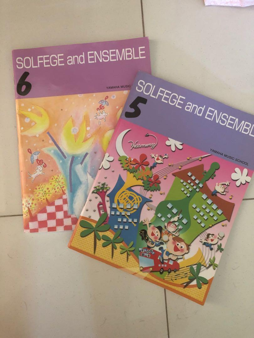 Yamaha Solfege and Ensemble book 5 and 6