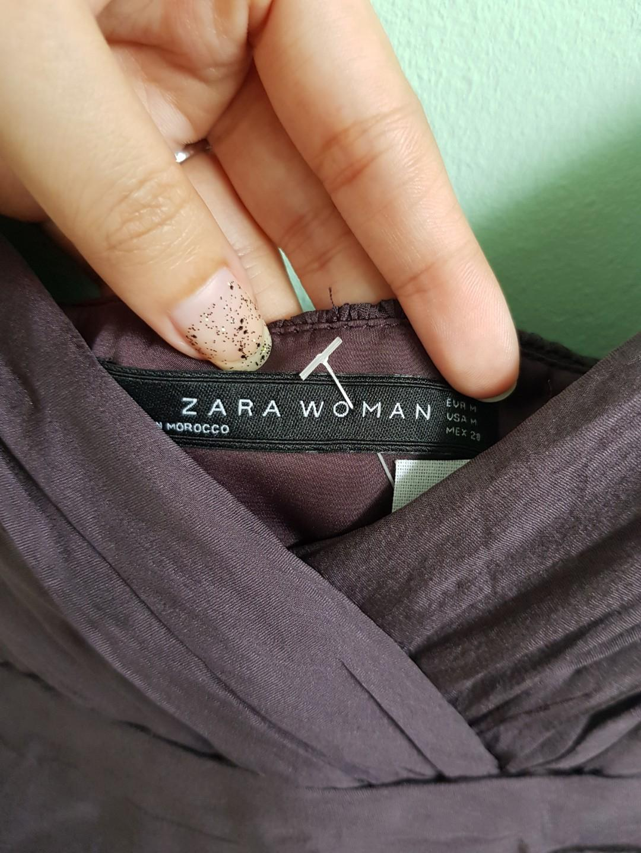 Zara Woman - Purple Dress