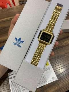 Adidas Archive M1  Quality Gred AAAA Alarm  Mineral Glass  Stopwatch  Led Light  36MM Sama Orig Size rm80 0126346092
