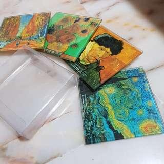 🚚 VanGogh Quality Coaster Set #makespaceforlove