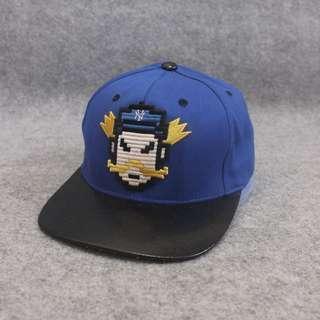 Topi Snapback NY MLB Black Second Original