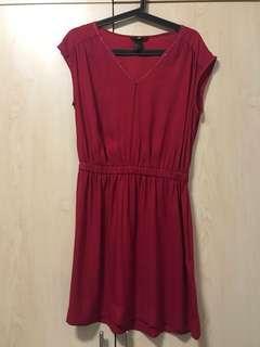 H&M Red Mini Dress