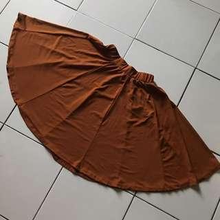 Light choco skirt