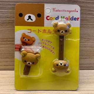包郵 鬆弛熊cord holder