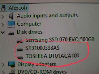 2 Hard Disk For Sale (Price Reduce)
