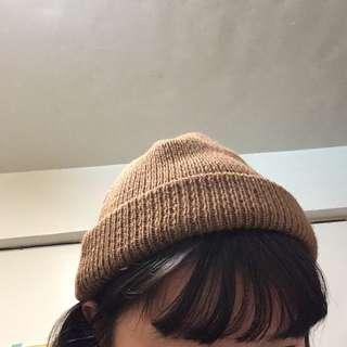 可愛ㄉ咖啡毛帽!