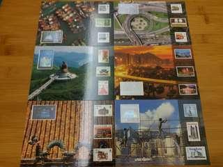 1997年郵展明信片( 一套 6張 ) 售價:$20
