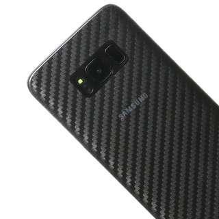 Carbon Fiber Rear Back Skin Screen Protector Note 9