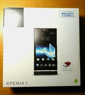 SONY XPERIA S Lt26i Black new battery just replaced