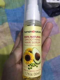 100% Natural Smoothing Hair Serum